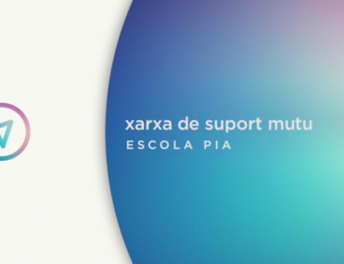 #XarxaEscolaPia, la xarxa de suport mutu